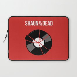 Shaun of the Dead - Record Laptop Sleeve