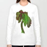 forrest Long Sleeve T-shirts featuring Rain Forrest by Softmyst