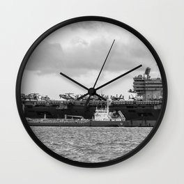 USS George H.W Bush. Wall Clock