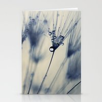 dandelion Stationery Cards featuring dandelion by Ingrid Beddoes