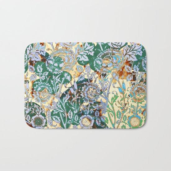 floral decor Bath Mat