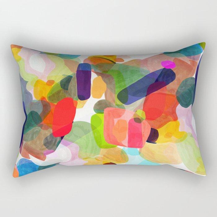 Sketch time - aquarela texture Rectangular Pillow