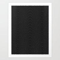 Lines 28J Art Print