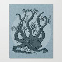 Octopus Tree Canvas Print