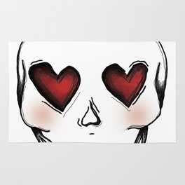 Skull lover Rug