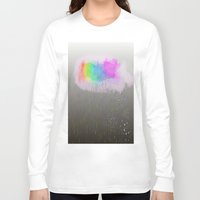 cloud Long Sleeve T-shirts featuring cloud by WilliamFontana