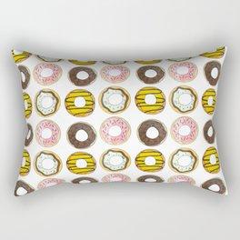 Nuts for Doughnuts Rectangular Pillow