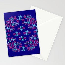 """Microchip"" 8 Stationery Cards"