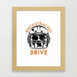 DRIVE By Jacob Chance Framed Art Print