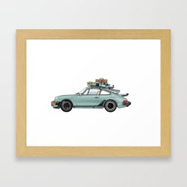 Star Struck Roadtrip Framed Art Print