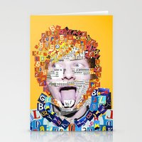 ed sheeran Stationery Cards featuring Ed Sheeran by Jack