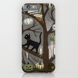 halloween tree iPhone Case