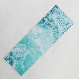 Perfect Sea Waves Yoga Mat