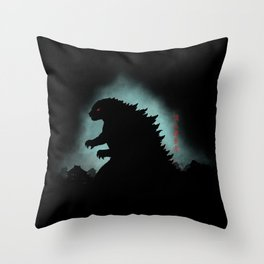 The Apex Predator Throw Pillow