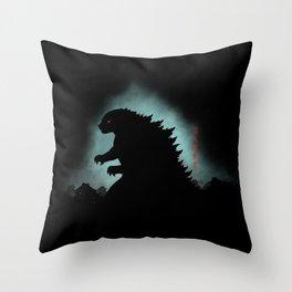 The Apex Predator Throw Pillow