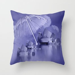 sheltered -1- Throw Pillow