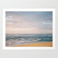 Pastel Skies Art Print