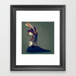 Bunny Doll Framed Art Print