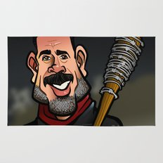 Negan and Lucille Rug