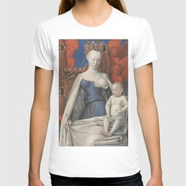 Madonna And Child By Jean Fouquet 1452 T-shirt