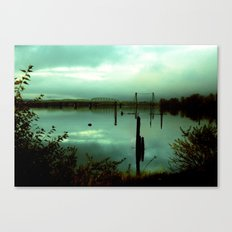 Green Bridge  Canvas Print