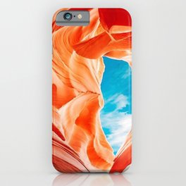 Antelope Canyon, Chile iPhone Case