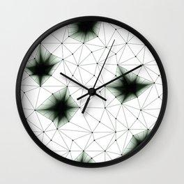 FLOWER NET Wall Clock