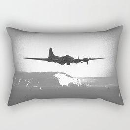 Returning Bomber Rectangular Pillow