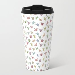 Origami Cranes Travel Mug