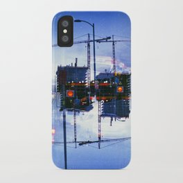 America ducking the question of origins (35mm multiple exposure) iPhone Case