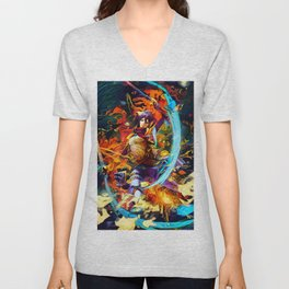 Asian one Unisex V-Neck