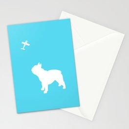 French Bull dog art Stationery Cards