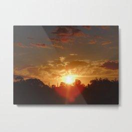 Sunset V Metal Print
