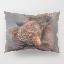 A Bear Hug Pillow Sham