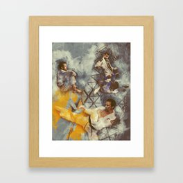 Flanery Passion For BJJ Framed Art Print
