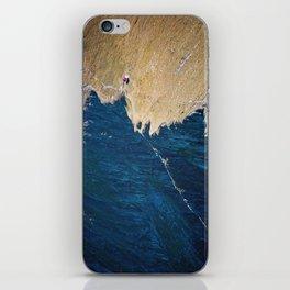 Yellow blue land iPhone Skin