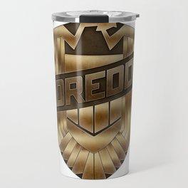 Judge Dredd Badge Travel Mug