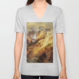 The Grand Canyon Of The Yellowstone - Digital Remastered Edition Unisex V-Neck