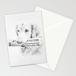 The Daily Progress - Vertical Stationery Cards