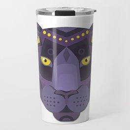 Royal Black Panther Travel Mug