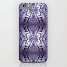 ultraviolet ice iPhone Case