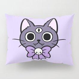 Three Eyed Kitty Pillow Sham