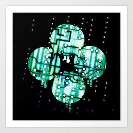 The Rain Art Print