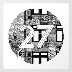 27 Art Print