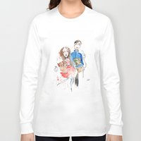 laura palmer Long Sleeve T-shirts featuring Laura  by Katja Main