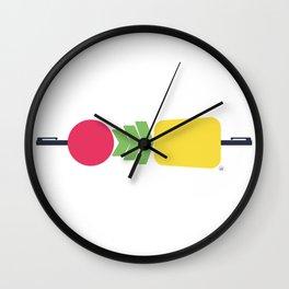 PPAP - Pen Pineapple Apple Pen Wall Clock