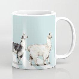 Llama The Abbey Road #1 Coffee Mug