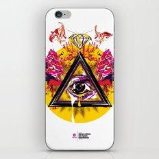 mcnfm_zero três iPhone & iPod Skin