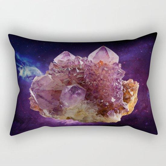 Crystal Planet Rectangular Pillow