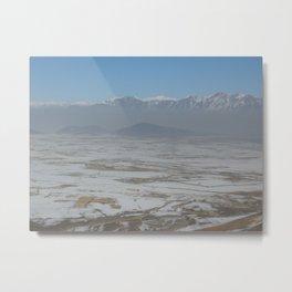 Plains of Afghanistan Metal Print